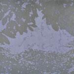 """Asta Rode, """"mein Garten VII"""" Öl auf Holz, 40 x 60 cm, 2011"""