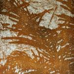 """Asta Rode, """"mein Garten VI"""" Öl auf Aquarellpapier, 60 x 80 cm, 2011"""