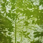 """Asta Rode, """"mein Garten V"""" Öl auf Aquarellpapier, 60 x 80 cm, 2011"""