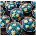 Oktoberfest-chocolate Minicupcakes