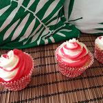 Swiss Straberry Cupcakes