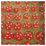 Supermario Vanilla Cupcakes