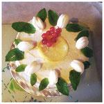 Lemon & Maccarons Cake