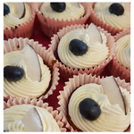 Lactose free Coconut & Blueberry Cupcakes
