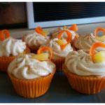 Cinnamon-Carrot Cupcake