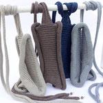 "Stirnband ""Liana"" // Baumwolle Viscose // Farbe 3 // Farbe 84 // Farbe 5 // Farbe 207 (v. l. n. r.)"