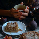 Apple Crumb Cake Gluten free and vegan