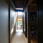 元小屋裏換気用無双窓のハイサイドは朝日がよく入る