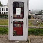 Telefonbibliothek am Bahnhof in Winterberg