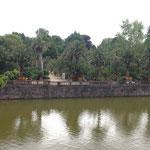 Bad Pyrmont: Palmengarten vom Schloss aus gesehen