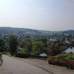 Rothaarsteig: zurück in der Zivilisation: Hilchenbach