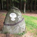 Rothaarsteig: Gipfelstein