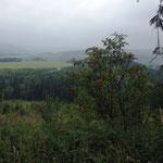 Weitblick auf den Glindfeld (800m ünN)