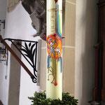 Kirche Oesdorf: was Beke sieht...