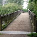 Neue Brücke nach Fissau