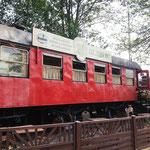 Rothaarsteig: am Bahnhof von Hilchenbach läßt Harry Potter grüßen mit Gleis 9 3/4
