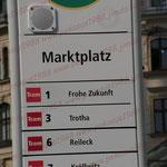 2007-08-24 Halle - Tram-Station © Pekasus1988