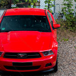 2014-06-21 Berlin Borsigwerk - Ford Mustang 001