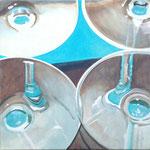 o.T., Öl auf Leinwand, 50 x 50 cm
