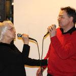 Karin mit Uwe Steinweh, Sänger der Stanton5