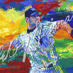 The Rocket - Roger Clemens 19 7/8x26 5/8 $5775 serigraph
