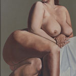 Seated Nude oil on canvas 20 x 24  $2200