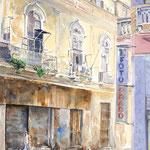 Shopping Woman  33 X 21  Watercolor  $1500