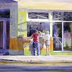 La Cecillia  21 x 33  watercolor  $1500