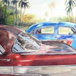Bel Air Paradise   38 x 48  Watercolor  $3000