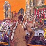 Harlem Streets 24x42 $6300 serigraph