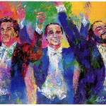 The Three Tenors 26.5x40 $4725 serigraph
