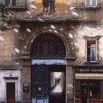 """Academie du Billard, (Serigraph) 51 x 32"""""""