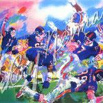 Giants - Broncos Classic 28.5x38 $8925 serigraph
