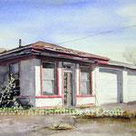 Tims Auto  23x32   watercolor      $1500