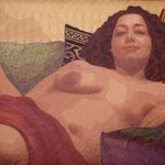 Voluptas……Margot Lovinger…Hand Cut Layered Fabrics….3000