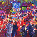 Harry's Wall Street Bar 24.25x38 $11660 serigraph