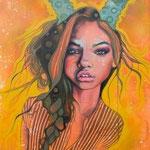 Fuego  Mixed Media on Canvas