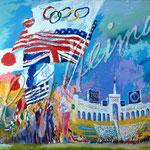 Opening Ceremonies - XXIII Olympiad 1984 42x28 $9450