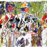 Four Jockeys 20.5x31.5 $4200 serigraph