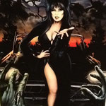 "Elvira ""Mistress of the Dark"" - Digital - 18"" x 24"" $150 *Prints available (limited to 250 prints 13"" x 19"" - $25.00)"