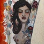 "Each Love Is A Poem by Teresa Magel, 24x 24"", $850"
