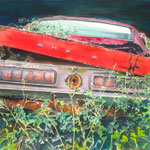 A Classic She B  26 X 34  Watercolor    SOLD