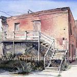 Red Brick Series  32 x 38  Watercolor  $1700