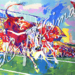 Texas Longhorns 26.5x38 $3675 serigraph