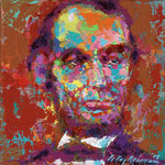 Homage to Lincoln 17x17 $2500 serigraph