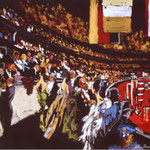 International Horse Show, New York 17x25.5 $3360 serigraph