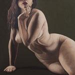 Ms. Lelia No. 1  oil on canvas  40 x 40  $7200