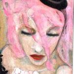 A Rain of What I Feel 24x12 $425 acrylic on canvas
