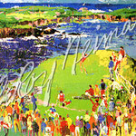 The 16th at Cypress 38.25x28.5 $16800 serigraph