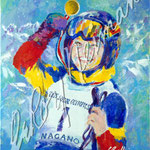 Special Olympics Nagano 2005 30x24.75 $3150 serigraph